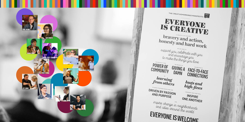 CreativeMornings Hosts One-Year Celebration