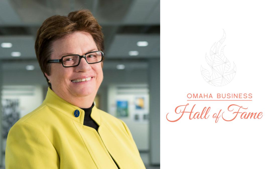 Omaha Business Hall of Fame Inductee: Dr. Maryanne Stevens, RSM