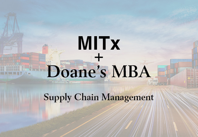 Doane MBA program connects with MITx MicroMasters