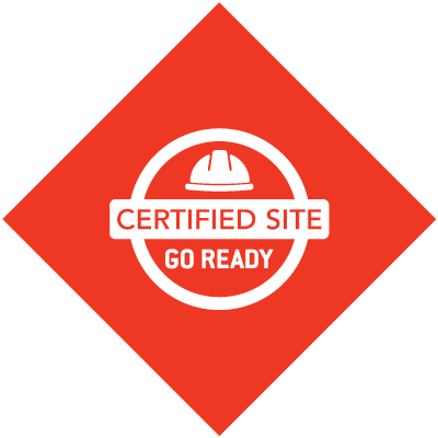 Go Ready Certified Site badge