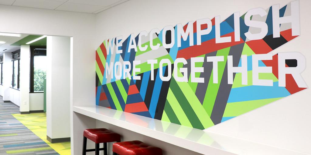 We accomplish more