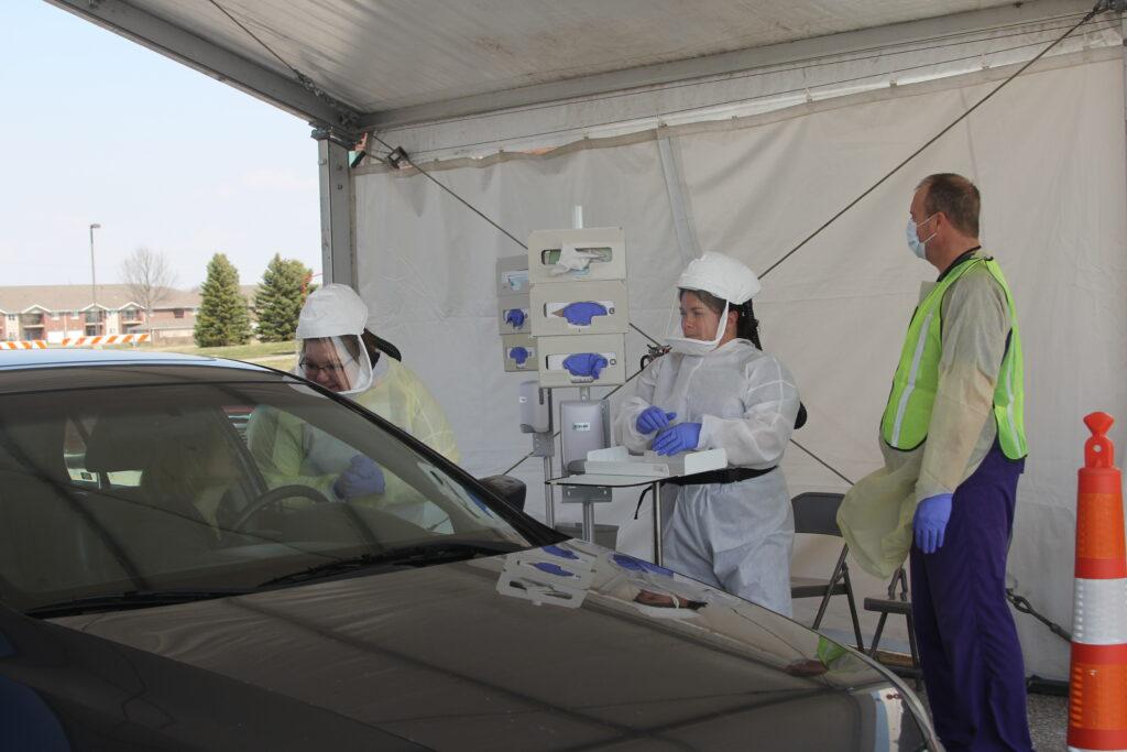 CHI Drive-Thru COVID-19 Testing